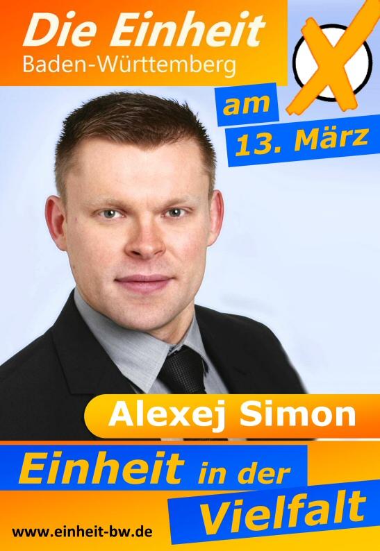 Die Einheit Kandidat Alexej Simon